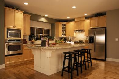 ecologically friendly kitchen