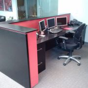 Office desks and storage