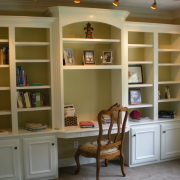 Office bookshelves
