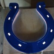 Horseshoe with lighting
