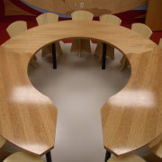 Creative desk for schools